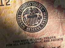 United States Federal Reserve System symbol. Close up Stock Images