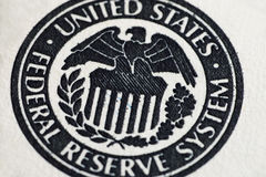 United States Federal Reserve System symbol Royalty Free Stock Photo