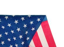 United States flag Royalty Free Stock Photography