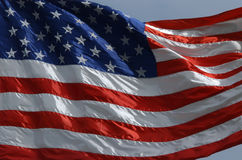 United States Flag. A national flag of the United States royalty free stock images