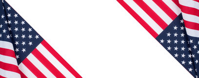 United States flag.  American symbol. Independence day. Royalty Free Stock Photo