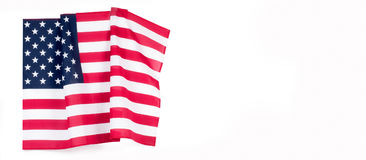 United States flag.  American symbol. Independence day. Royalty Free Stock Image
