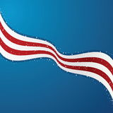 United States Flag Background vector illustration