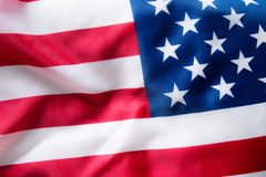 United States flag background. Royalty Free Stock Images