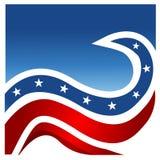 United States flag background Royalty Free Stock Images
