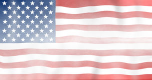 United States flag Royalty Free Stock Image