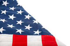 The United States flag. Stock Photo