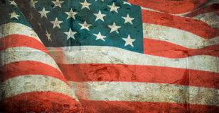 United States flag Royalty Free Stock Images