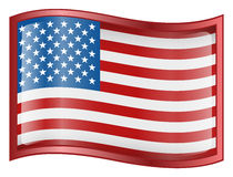 United States Flag Icon Royalty Free Stock Images