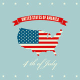 United States flag Stock Image
