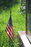 United States Flag Military Veteran Memorial Royalty Free Stock Photos