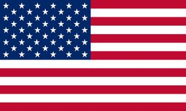 United States Flag. The original flag Royalty Free Stock Images
