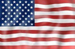United States flag Stock Photography