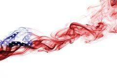 United States flag smoke Royalty Free Stock Photography
