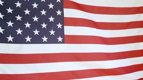 United States flag stock footage