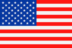 United States Flag Vector Flat Icon Royalty Free Stock Images