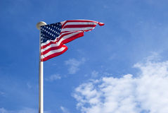 United States Flag waving Stock Photos