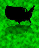 United States going Green Stock Image