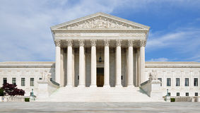 United States högsta domstolen Royaltyfria Foton