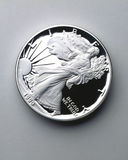 United States Half Dollar. Close up of a United States half dollar Stock Photography