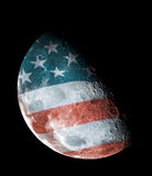 United States half moon Stock Images