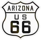 United States Highway Arizona Stock Image