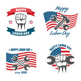United States Labor Day national holiday vector vector illustration