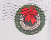 United States Mail stamp Stock Photo