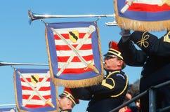 Free United States Marine Corp Trumpeters Stock Photo - 25966200