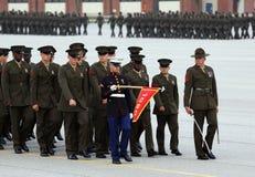 United States Marine Corps Graduate Parade Royalty Free Stock Image