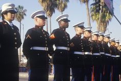 United States Marines, Los Angeles, California Stock Images