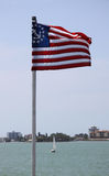 United States maritime flag Stock Image