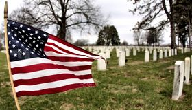 United States memorial day photography Royalty Free Stock Photography