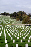 United States National Cemetery Royalty Free Stock Photos