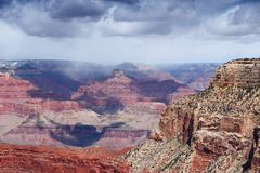 United States nature. Grand Canyon view in Arizona. Monument Creek Vista view point Stock Photo