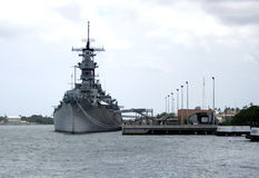 United States Naval Battleship Stock Photography