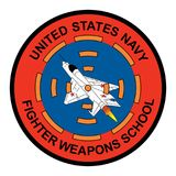 United States Navy - Fighter Weapons School Logo. 