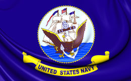 United States Navy Flag Stock Photos