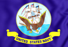 United States Navy Flag Royalty Free Stock Image