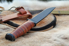 United states navy ka-bar knife Stock Photo