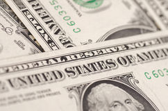 United States one-dollar bill Royalty Free Stock Photos