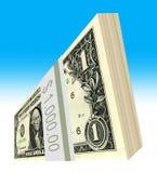 The United States one-dollar bill stock illustration