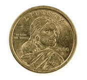 United States one dollar coin Stock Photos