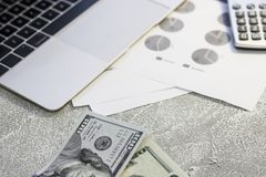 United States paper money royalty free stock photography
