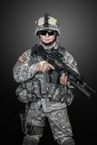 United States paratrooper Royalty Free Stock Images