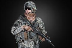 United States paratrooper Stock Photo