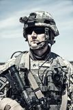 United States paratrooper Royalty Free Stock Image