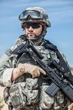 United States paratrooper Stock Photography