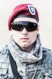 United States paratrooper Stock Photos