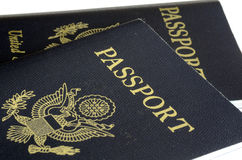 United States passport front cover Stock Image